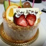 ショウタニ 宝塚店 - 誕生日ケーキ