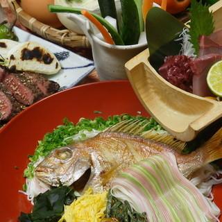 郷土料理 五志喜 - メニュー写真:会席コース