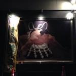 ちゃんこ屋 鈴木ちゃん - 店外の大きな絵
