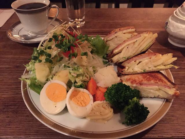 カフェ・デ・プリマベーラ - プリマムッシュ(1000円)