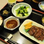 庄屋 - ステーキ定食