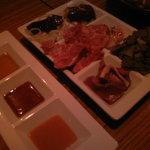 Ushi Kushi - 牛肉刺し5種盛り合わせ