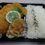 あつみや - とんかつ弁当(2014/12)