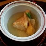 花三昧 - 海老芋と筍とくわいの餡かけ