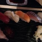 鮨竜 - 並・とびっこ食べた後