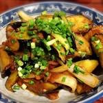 金燕楼 - なす味噌炒め