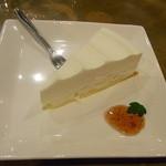 JKカフェ - ケーキセット¥700 レアチーズケーキ☆♪