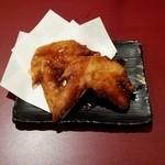 京都ハナビ - 京赤地鶏の手羽唐