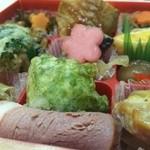 なだ万厨房 - 料理写真:季節の小箱 1,242円
