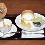 卯さぎ - ロールケーキセット