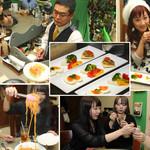 奥沢カフェ&バー ピッコロスタンツァ - 前菜からデザートまで楽しいパーティーコース料理をご用意しています
