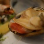 牡蠣と地中海料理 ALEGRIA - 車エビ、ホッキ
