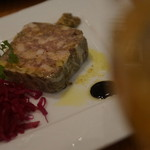 牡蠣と地中海料理 ALEGRIA - 豚とフォアグラパテドカンパーニュ
