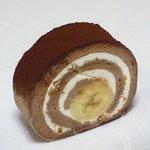 デザートナンバーイチ ロールケーキ - キャラメルバナナ430