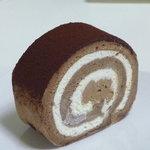 デザートナンバーイチ ロールケーキ - ショコラ410円
