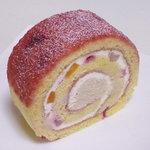 デザートナンバーイチ ロールケーキ - フランボワーズ430円