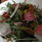 北前居酒屋 佐勘  - アナゴと春野菜のサラダ