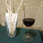 リストランテ トレンティーノ - 赤ワインとグレッシーニ