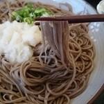 Sobanosatogounosoba - 麺 拡大
