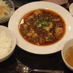 34194787 - 陳麻婆豆腐セット