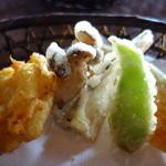 34196005 - さちばる定食の天ぷら