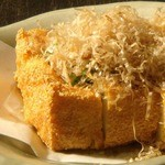 食楽厨房 以心伝心 - 仙波豆腐の自家製厚揚げ