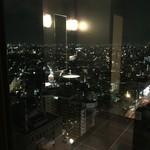 34197522 - メトロポリタンホテル25Fからの夜景の一部。