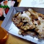 鳥若 - 鳥若の鳥×トリトンのお寿司