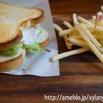 Fika - ハムとたまごのサンドウィッチ(500円)