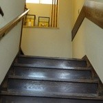宮鍵 - 木製階段