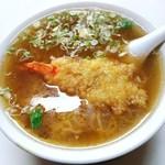あきちゃん食堂 - 料理写真:天ぷら中華