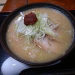 寿司ショップ彩 - 納豆味噌らーめん