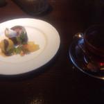 34202560 - パスタランチのデザートと紅茶