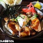 居酒屋 一進 - 料理写真:焼豚玉子丼