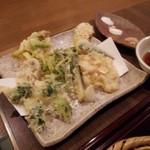 34205066 - 野菜の天ぷら盛り合わせ2015,1