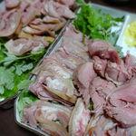 山羊料理二十番 - 山羊さしみ 1200円