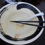 ピリカ - 辛ネギ味噌ラーメン完食