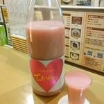 なか屋 - 日本酒「ちえびじん らぶぴんく 純米酒 桃色にごり純米原酒」