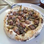イルポッジョ - サルシッチャとスモークチーズのピザ2015,1