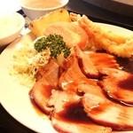 翠蓮 - 料理写真:チャーシュー定食