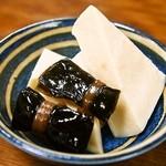 しみず - 高野豆腐 & 昆布
