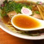 34207469 - スープは魚介系の旨味が効いてて、美味しかったです♪