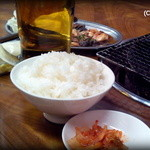 寿楽園 - 焼肉定食