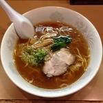 なの花 - 正油ラーメン(570円)