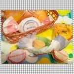 ドゥルセ・ミーナ - アップルタルト☆ マンテカード各種☆ ロスコ・デ・ヴィノ☆ オレンジ・トゥロン☆ トウモロコシ粉のケーキ☆ バスクケーキ☆ スペインはちみつのケーキ☆