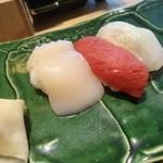 鮨棗 - ホタテ マグロ ヒラメ