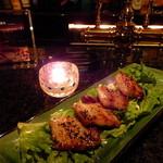 Fooding Bar Ruelle堂山 - もち豚のステーキ 北海バターソース