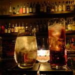 Fooding Bar Ruelle堂山 - シャンボーン:720円+ジャックダニエル水割り