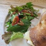 サンス エ サンス - 生ハムとグリュイエール・チーズのサンド4
