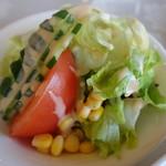 太平洋クラブ 佐野ヒルクレストコース レストラン - サラダ